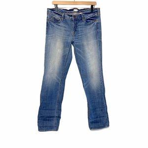J Crew stretch light denim jeans short size 29S